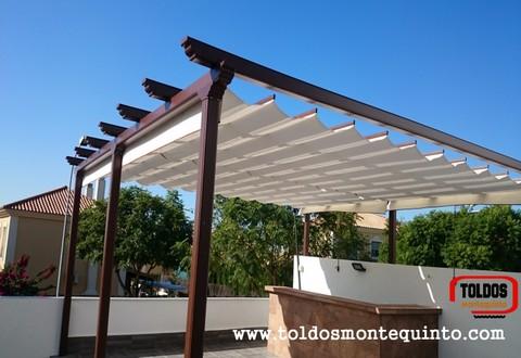 Pergolas aluminio imitacion madera precios materiales de for Pergolas aluminio precios